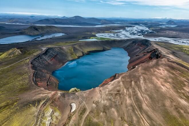 Landmannalaugar - Lake´s - friend in iceland