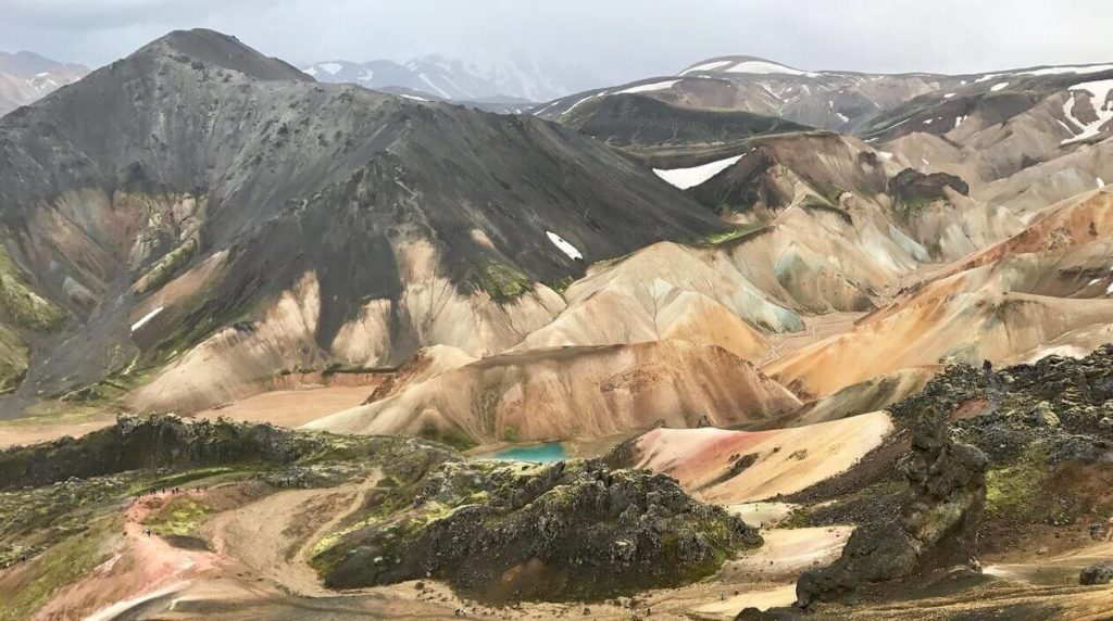 Landmannalaugar - Mountains - friend in iceland