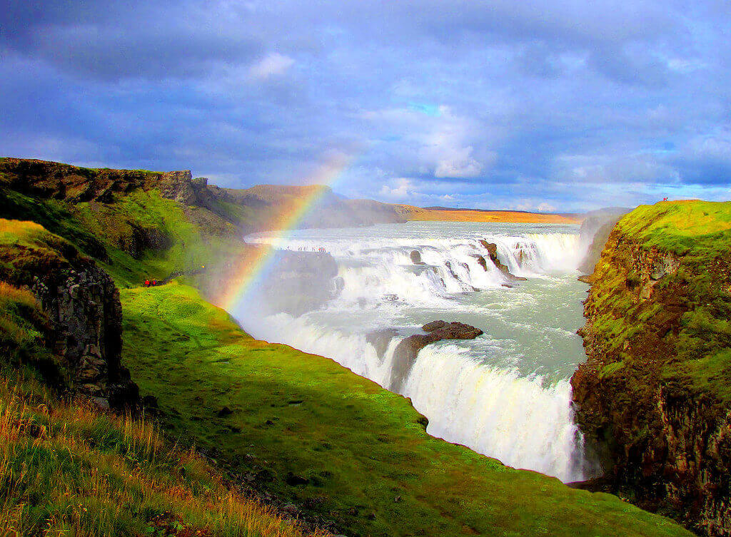 3 days, South Coast, Golden Circle & Northern Lights - Gullfoss - friend in iceland