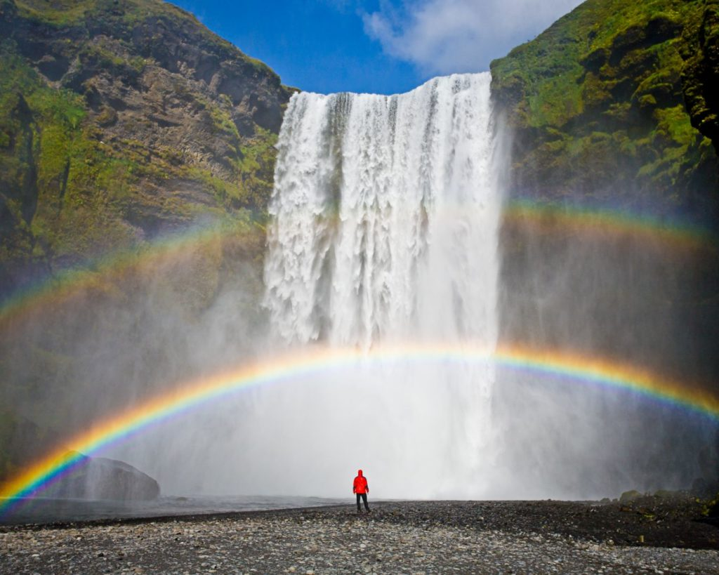 3 days, South Coast, Golden Circle & Northern Lights - Skogafoss - friend in iceland