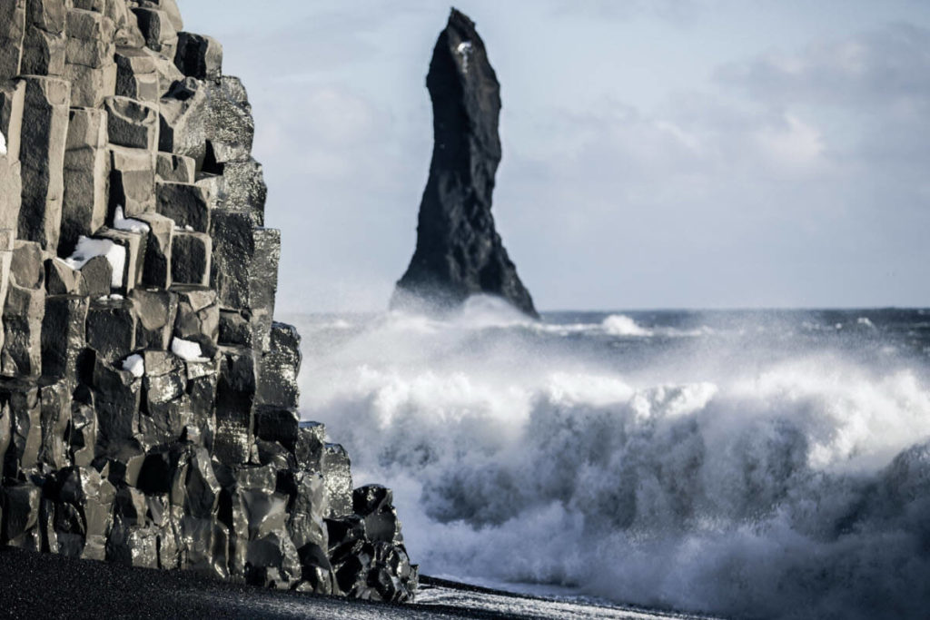 6 Day Around Iceland reynisfjara-ocean - friend in iceland