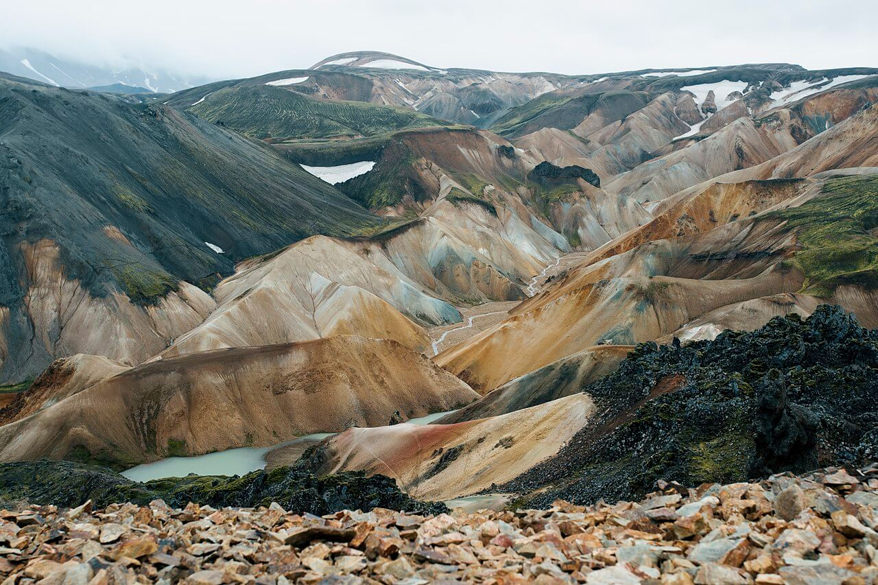 Landmannalaugar - friend in iceland (2)